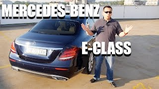 Mercedes-Benz E-Class 2017 (ENG) - Test Drive and Review