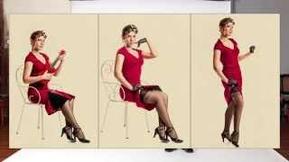 Видео урок фотографии - Съемка в стиле Pin Up