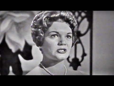 """Connie Francis """"Lipstick On Your Collar"""" on The Ed Sullivan Show"""