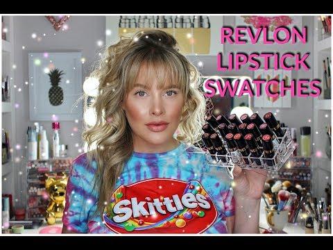 Revlon Lipstick Swatches | Brittany Elizabeth thumbnail