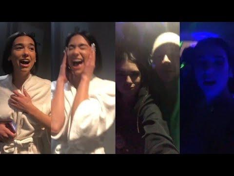 Dua Lipa Celebrate With Her Friends For Winning 2 Times Grammy's Best New Artist Awards 2019