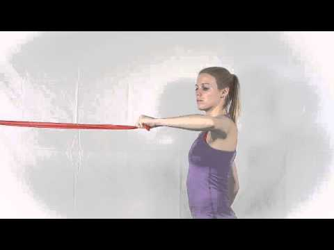 Resistance Band Standing External Rotation at 90 Degrees