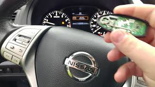 How To Start 16 Nissan Altima with Dead Key Fob