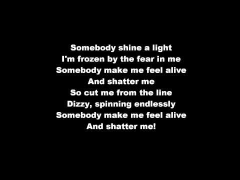 SHATTER ME  Lindsey Stirling ft Lzzy Hale lyrics