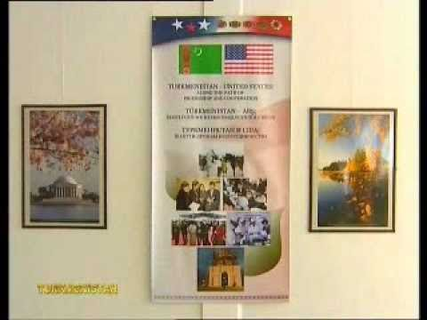 2010 Photo Exhibition Highlighting U.S.-Turkmenistan Relations - in Russian