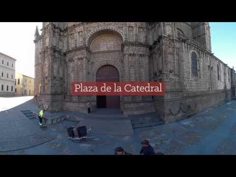 Vídeo 360º de Plasencia (Extremadura) - Ruta Vía de la Plata