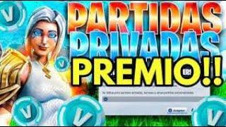 🔴PARTIDAS PRIVADAS CON PREMIO FORTNITE EN DIRECTO ahora *BATALLA DE OUTFIT*  *SCRIM* en vivo BRASIL