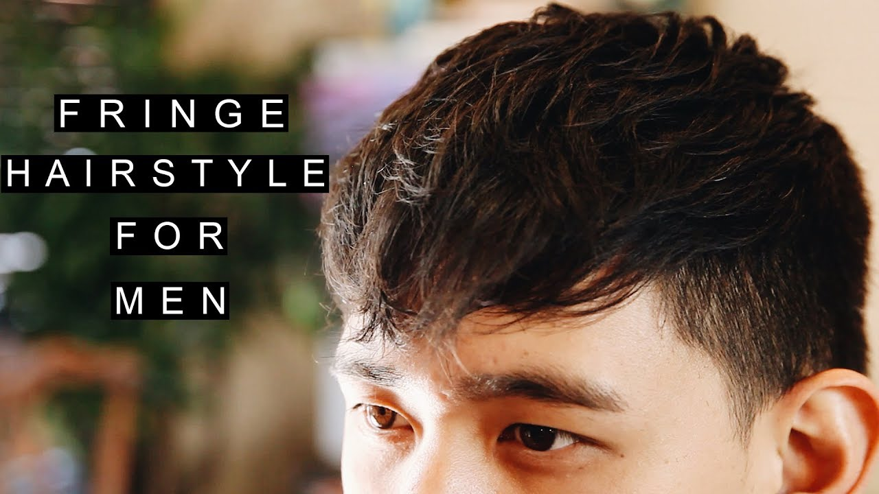 Fringe Hairstyles For Men Textured Asian Hair Modern Short Bangs Youtube