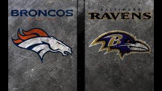 THE EDGE # 29 - Denver Broncos @ Baltimore Ravens | Game Preview | Predictions
