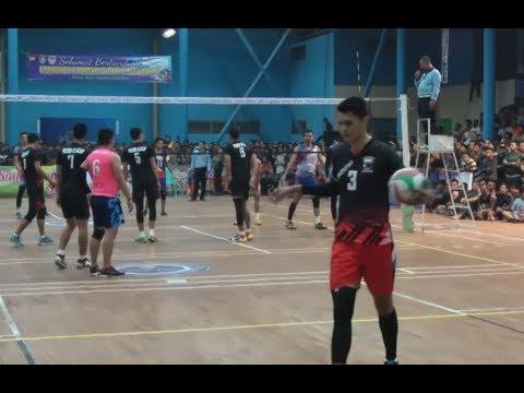 FULL Polres Cilacap (SIGIT ARDIAN) vs Bank Jateng Semarang - SEMIFINAL VOLI  BANK JATENG CUP 2017