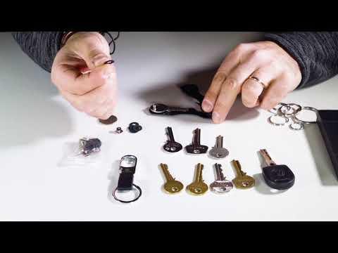 Key Organizer - Keyport Smart Key Holder Organizer Technical Video - Tutorial