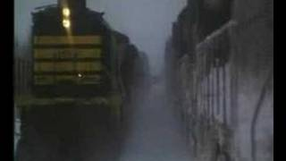 runaway train locomotive crash gp9