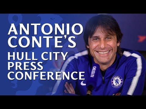 Antonio Conte Press Conference | Chelsea v Hull