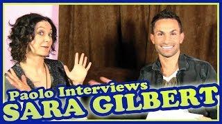 """Sara Gilbert on """"The Talk"""", """"Roseanne"""" & Vegan Cookies!"""