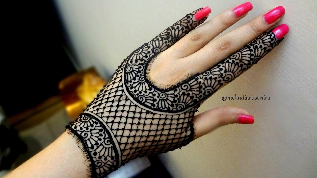 Best And Beautiful Easy Simple Henna Mehandi Designs Images For