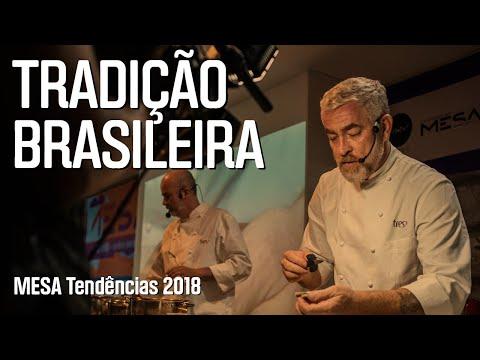 Cozinha sustentável por Alex Atala e seus chefs –Mesa Tendências 2018