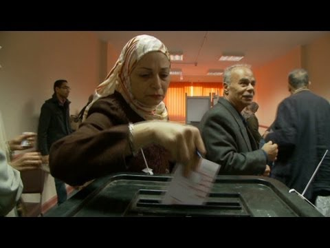 Egypt votes on disputed constitution
