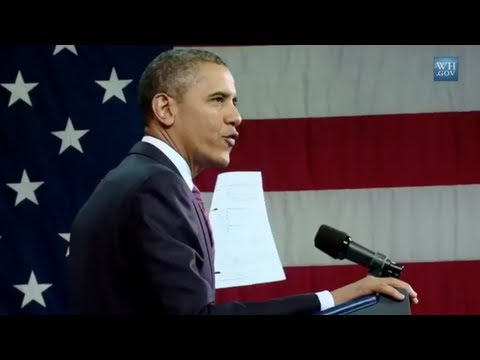 "President Obama: ""This is what a mortgage form should look like"""