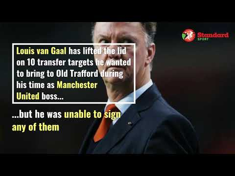 10 Players Van Gaal wanted at Man United but failed to sign