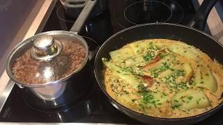 Готовим быстро и Вкусно//Болгарский перец в чесночном соусе, со сливками.