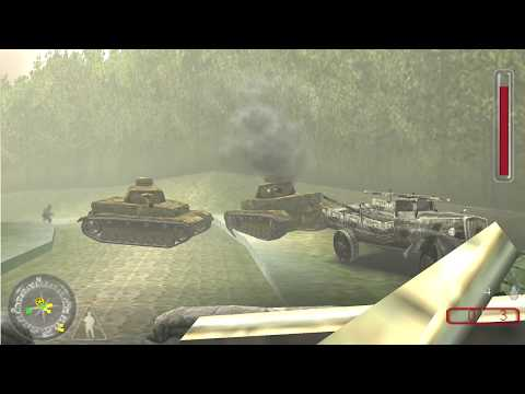 Call Of Duty Roads to Victory [P13] [Great Britain] [Arnhem Assault] NoCommentary Walkthrough |