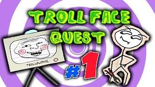 troll Face Quest #1 - Головоломка часть 1 ! Обзор и #прохождение игры ТроллФейс от Nutellka