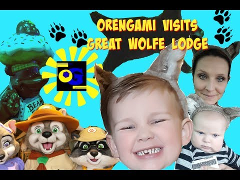 OREN AND ASH GO TO GREAT WOLF LODGE FOR  KIDS VACATION