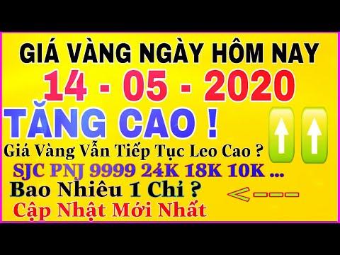 giá vàng 9999 hôm nay 14/5/2020 bao nhiêu một chỉ ? | giá VÀNG SJC 9999 24K Đà TĂNG GIÁ Duy Trì ?