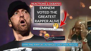 Rap Fans Debate As Eminem Is Voted Greatest Rapper Alive, NY Post Slammed For DMX Article