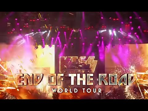 KISS announce initial dates of 'End Of The Road' World Tour + ticket details..!