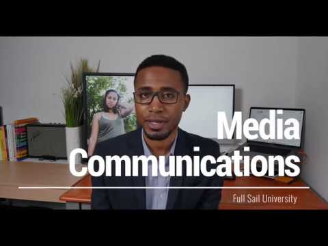 Media Communications Full Sail University Experience (Online)