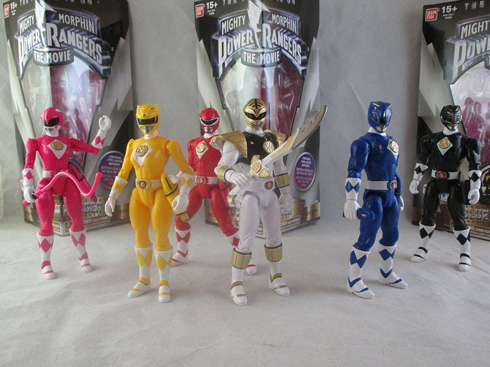 mighty morphin power rangers MMPR bandai tommy legacy