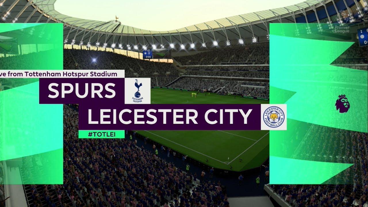 Tottenham vs leicester City | Premier League 19 July 2020 ...