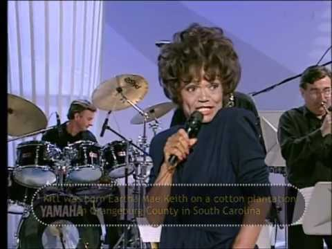 Eartha Kitt Lets fall in love - hilarious live on Alan Titchmarsh show