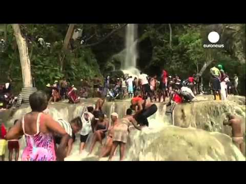 Devil Worship at Haiti waterfalls 2015 End Times News!!