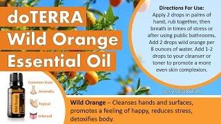 Top 4 doTERRA Wild Orange Essential Oil Uses
