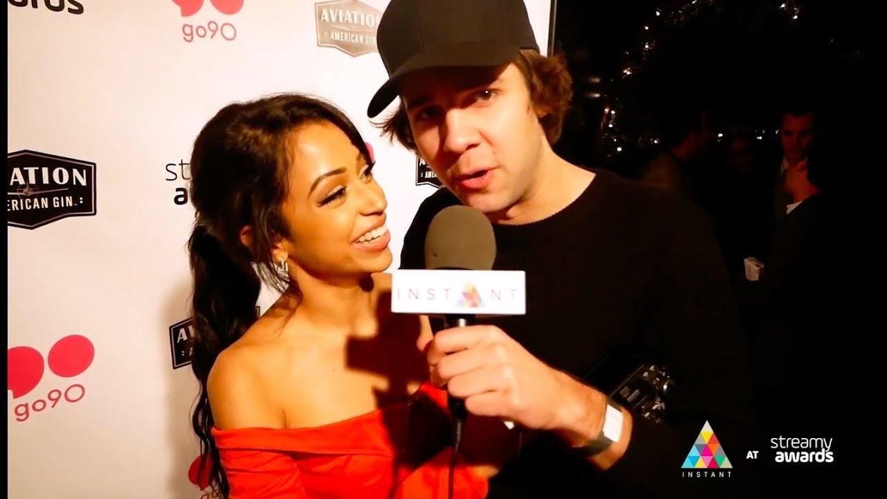 Liza Koshy And David Dobrik On Their Big Streamys Wins