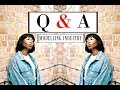 """MODEL Q&A :   """"IS IT HARD FOR BLACK MODELS TO GET WORK?"""""""
