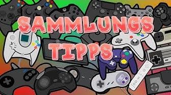 Meine Tipps zum Sammeln von Videospielen!