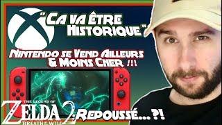 Zelda Botw 2 Repoussé  Xbox Va être Historique Nintendo Se Vend Moins Cher Andamp Adieu Remakes Switch
