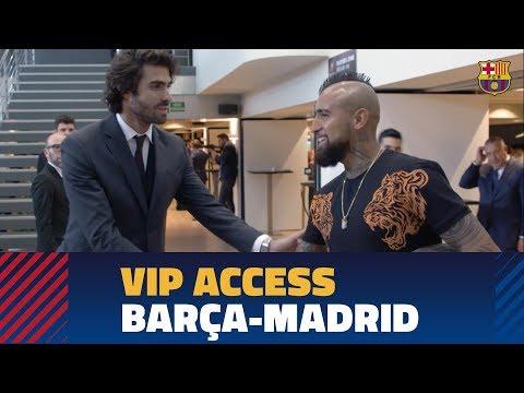 BARÇA 5-1 MADRID | Enjoy A VIP Clásico