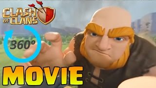 Clash Of Clans FULL Movie - Virtual Reality VR Raid! (CoC Animated Clash Of Clans Movie Animation!)