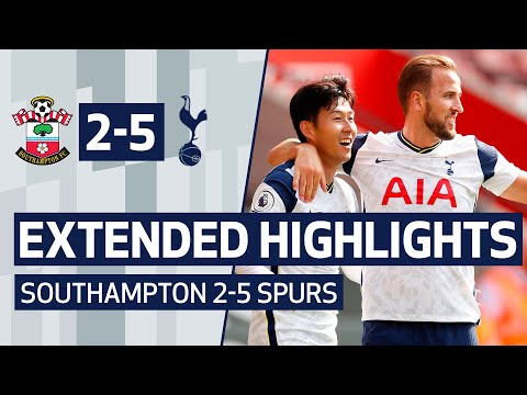EXTENDED HIGHLIGHTS | SOUTHAMPTON 2-5 SPURS | Sonny and Kane link up FOUR times at St Mary's