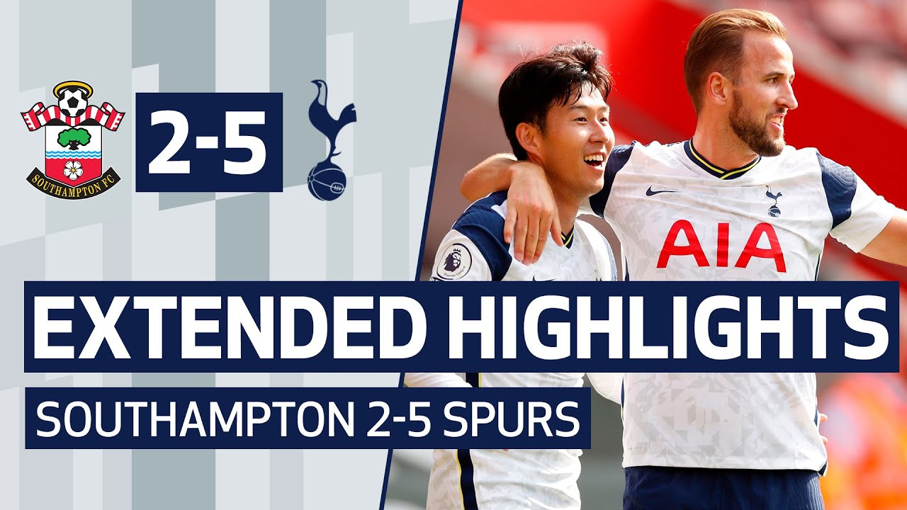 Download EXTENDED HIGHLIGHTS | SOUTHAMPTON 2-5 SPURS | Sonny and Kane link up FOUR times at St Mary's