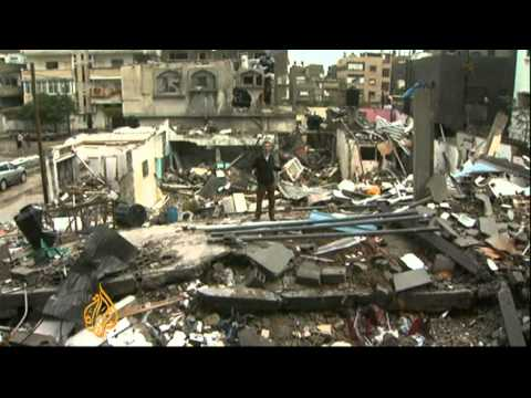 Israeli Attacks Leave Hundreds Homeless In Gaza