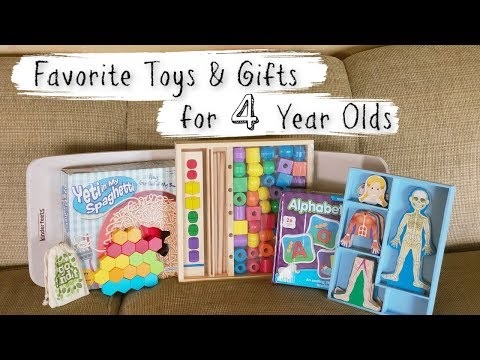 Our Favorite Toys Gifts For 4 Year Olds