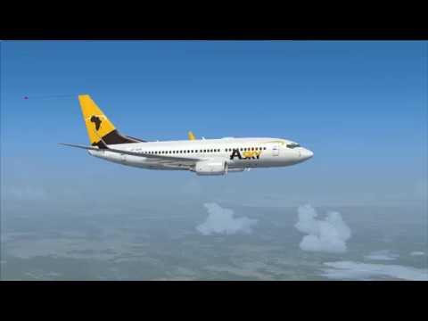 vol Abidjan à Niamey Boeing 737 700 Asky vol commenté