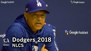 Dodgers NLCS 2018: Dave Roberts talks Walker Buehler and Clayton Kershaw pitching in NLCS Game 7 thumbnail