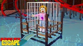 Roblox Flucht der Wasserpark Obby mit Molly!