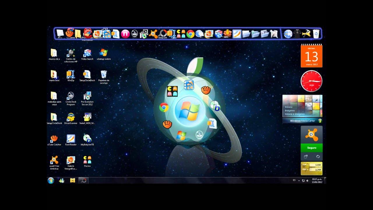 Mejores programas y fondos para tunear tu escritorio 2012 for Aplicaciones de fondos de pantalla